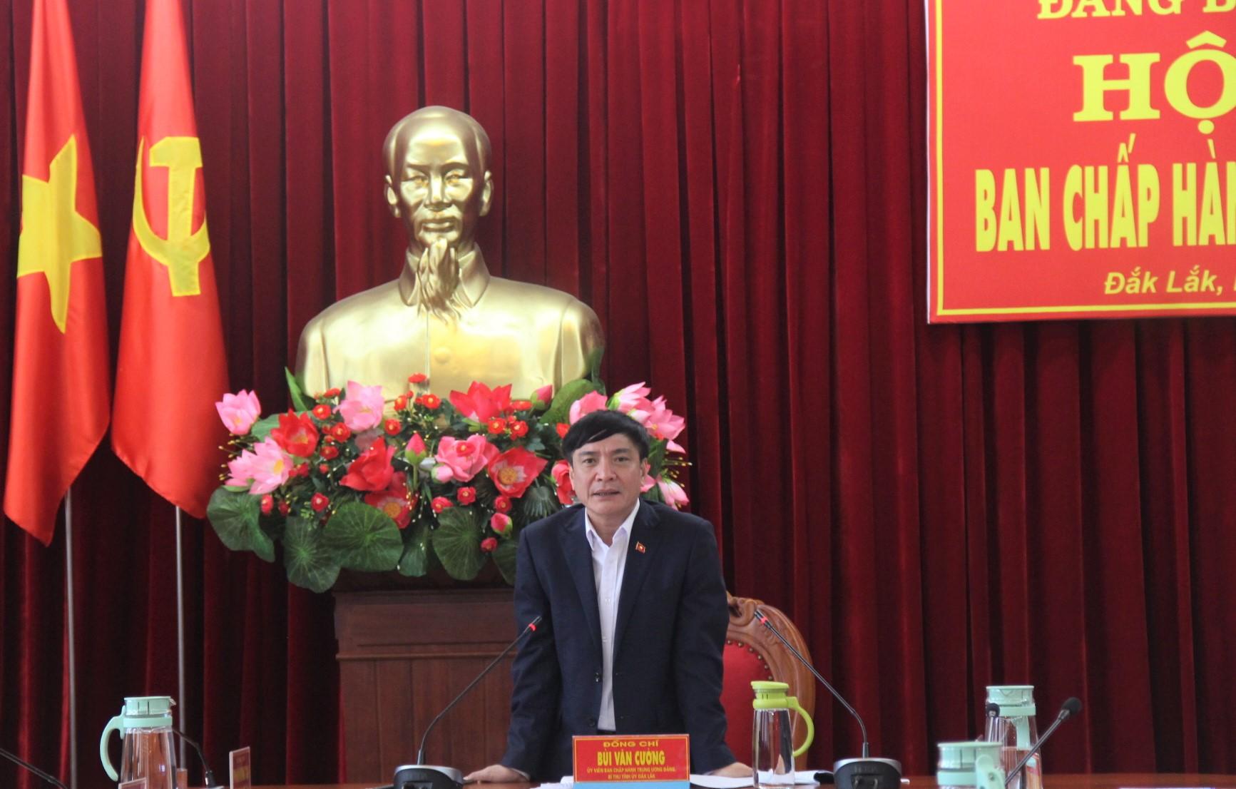 Hội nghị Ban Chấp hành Đảng bộ tỉnh lần thứ 27 (mở rộng)