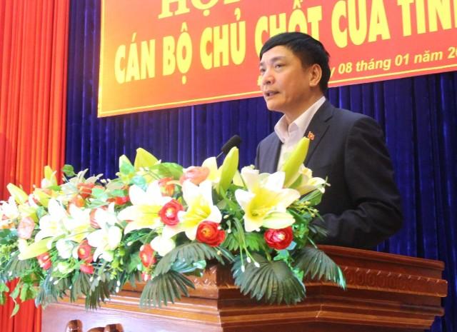 Hội nghị cán bộ chủ chốt về công tác cán bộ