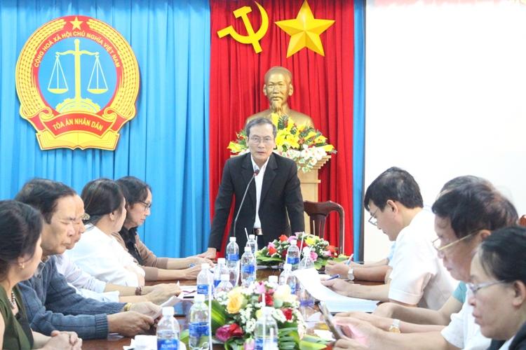 Hội nghị tổng kết công tác hội thẩm năm 2019