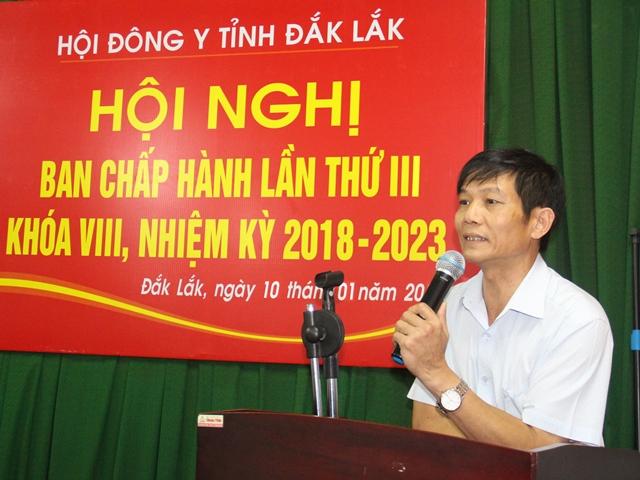 Hội Đông y tỉnh triển khai nhiệm vụ năm 2020