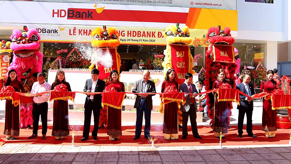 HDBank Đắk Lắk khai trương trụ sở mới