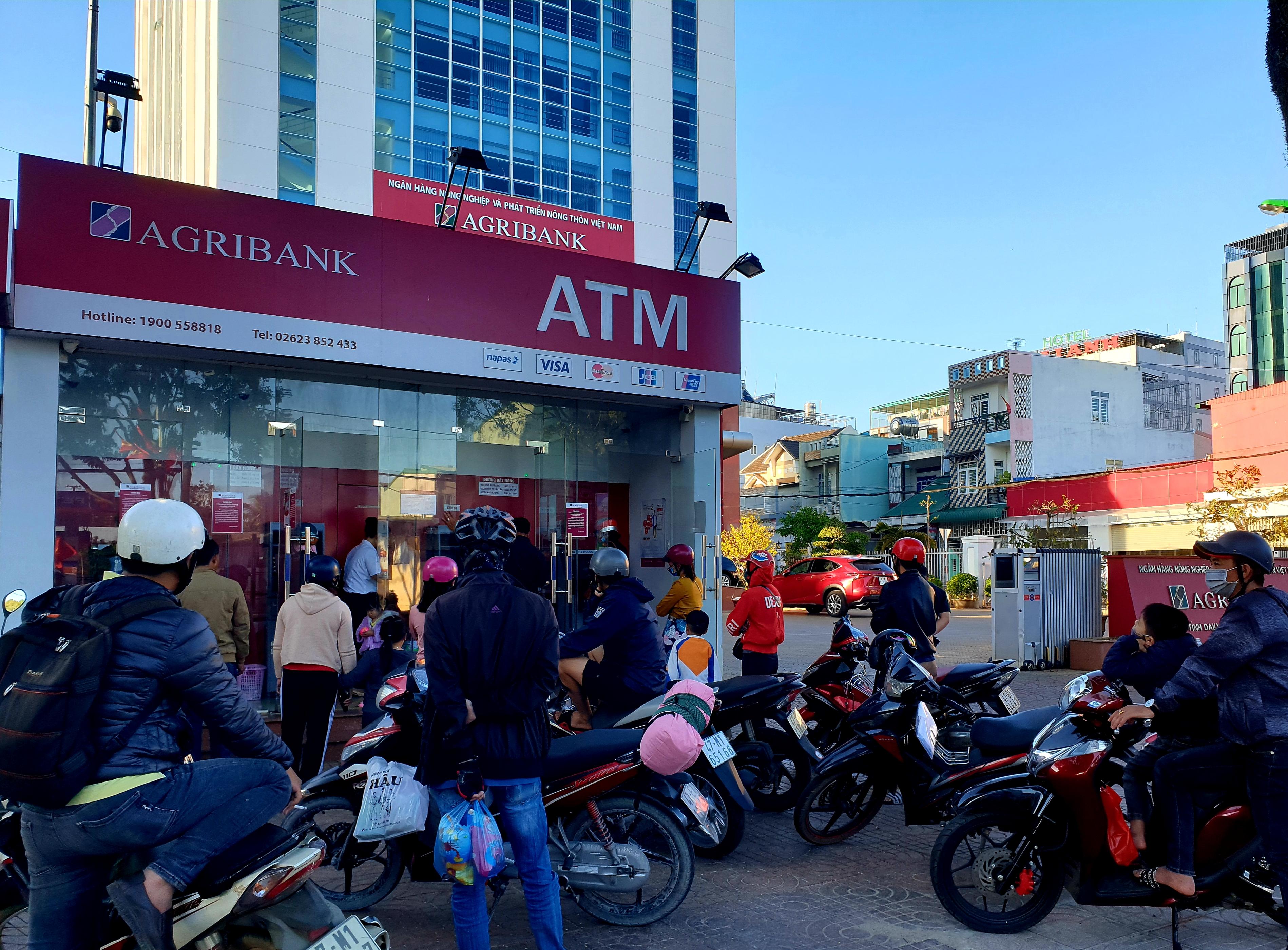 Agribank Đắk Lắk: Đảm bảo chất lượng dịch vụ, an toàn hoạt động ATM trong dịp Tết Canh Tý 2020.
