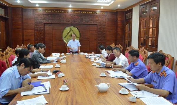 Ban Pháp chế HĐND tỉnh thẩm tra một số văn bản trình kỳ họp thứ 12, HĐND tỉnh khóa VIII
