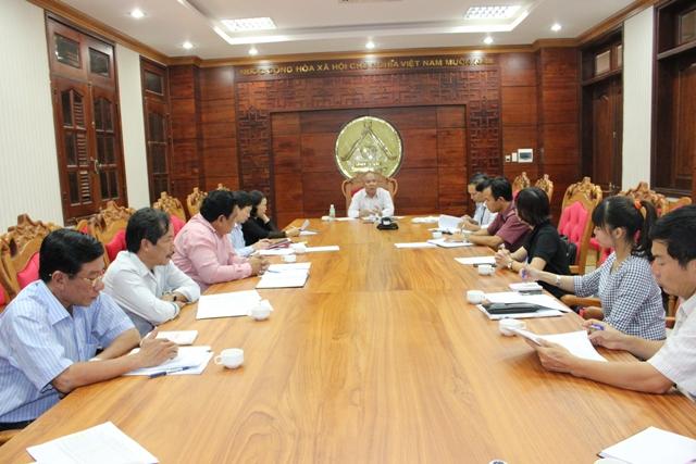 UBND tỉnh Đắk Lắk tiếp và làm việc với Đài Tiếng nói Việt Nam