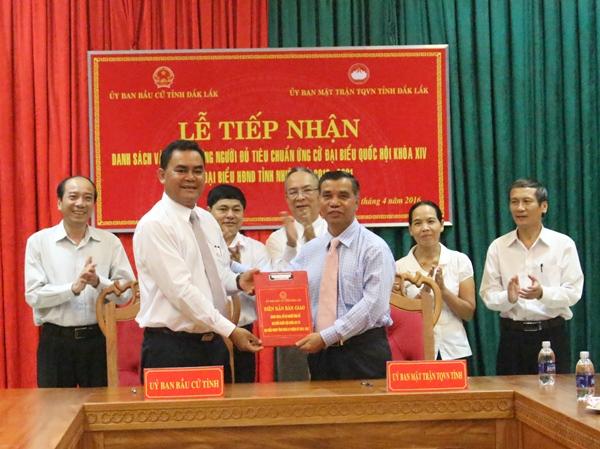 Đắk Lắk có 152 người đủ tiêu chuẩn ứng cử Đại biểu Quốc hội khóa XIV và đại biểu HĐND khóa IX, nhiệm kỳ 2016-2021