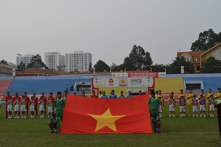 Vòng 2 Giải Bóng đá Hạng Nhất Quốc gia 2016: CLB Đắk Lắk thua Nam Định trên sân nhà.