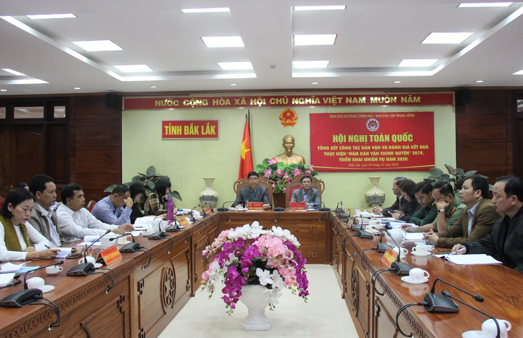 Kết quả xếp loại thực hiện công tác dân vận chính quyền của các cơ quan hành chính nhà nước trên địa bàn tỉnh năm 2019