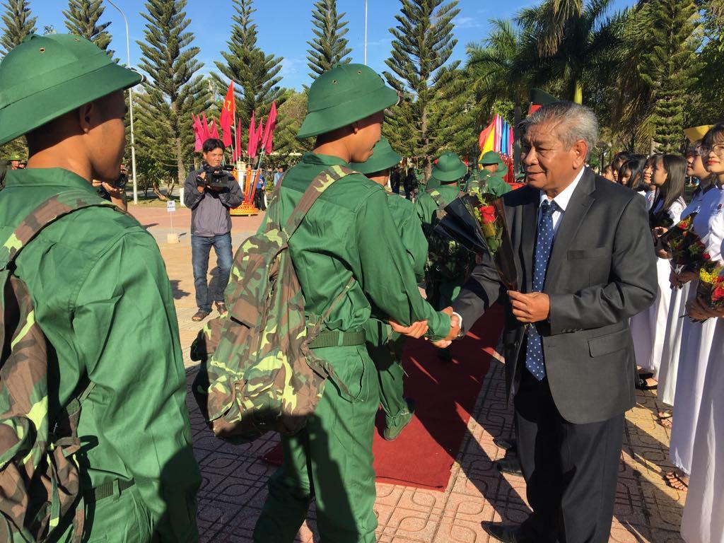 Huyện Lắk tổ chức Lễ giao nhận quân năm 2020