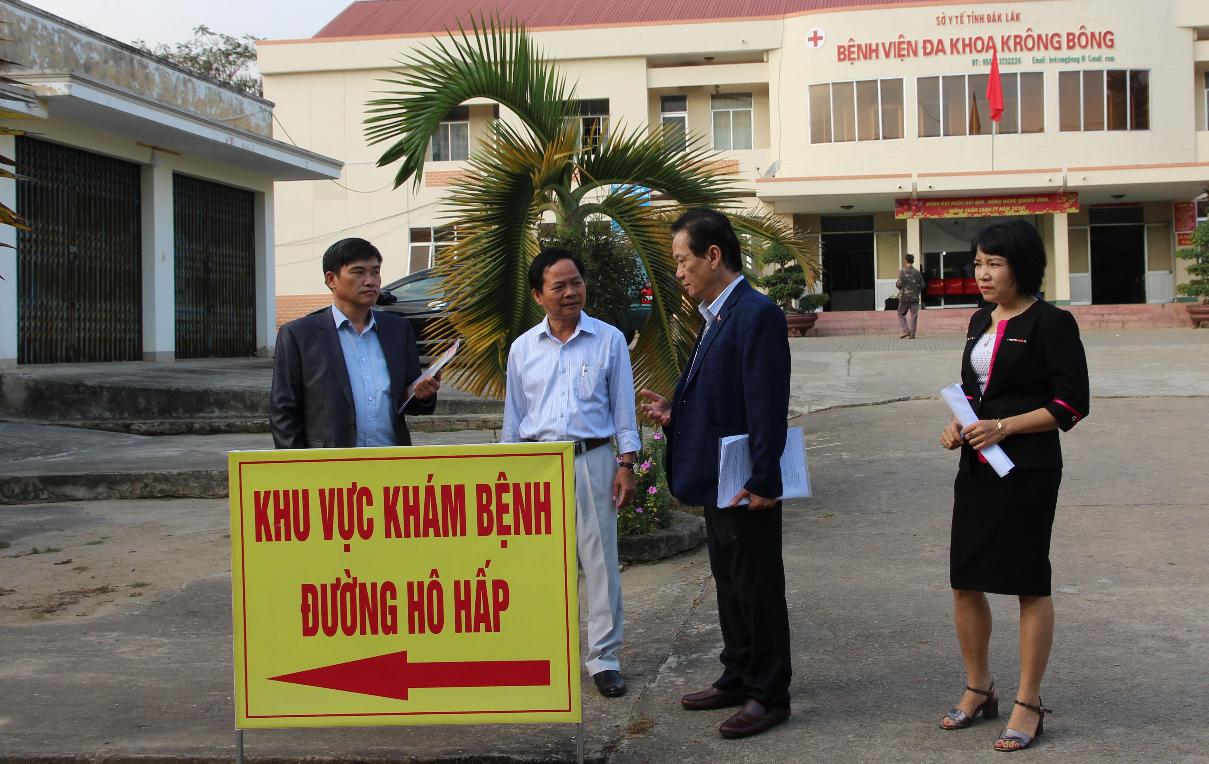 Kiểm tra công tác phòng, chống dịch bệnh Covid-19 tại huyện Krông Bông và thành phố Buôn Ma Thuột
