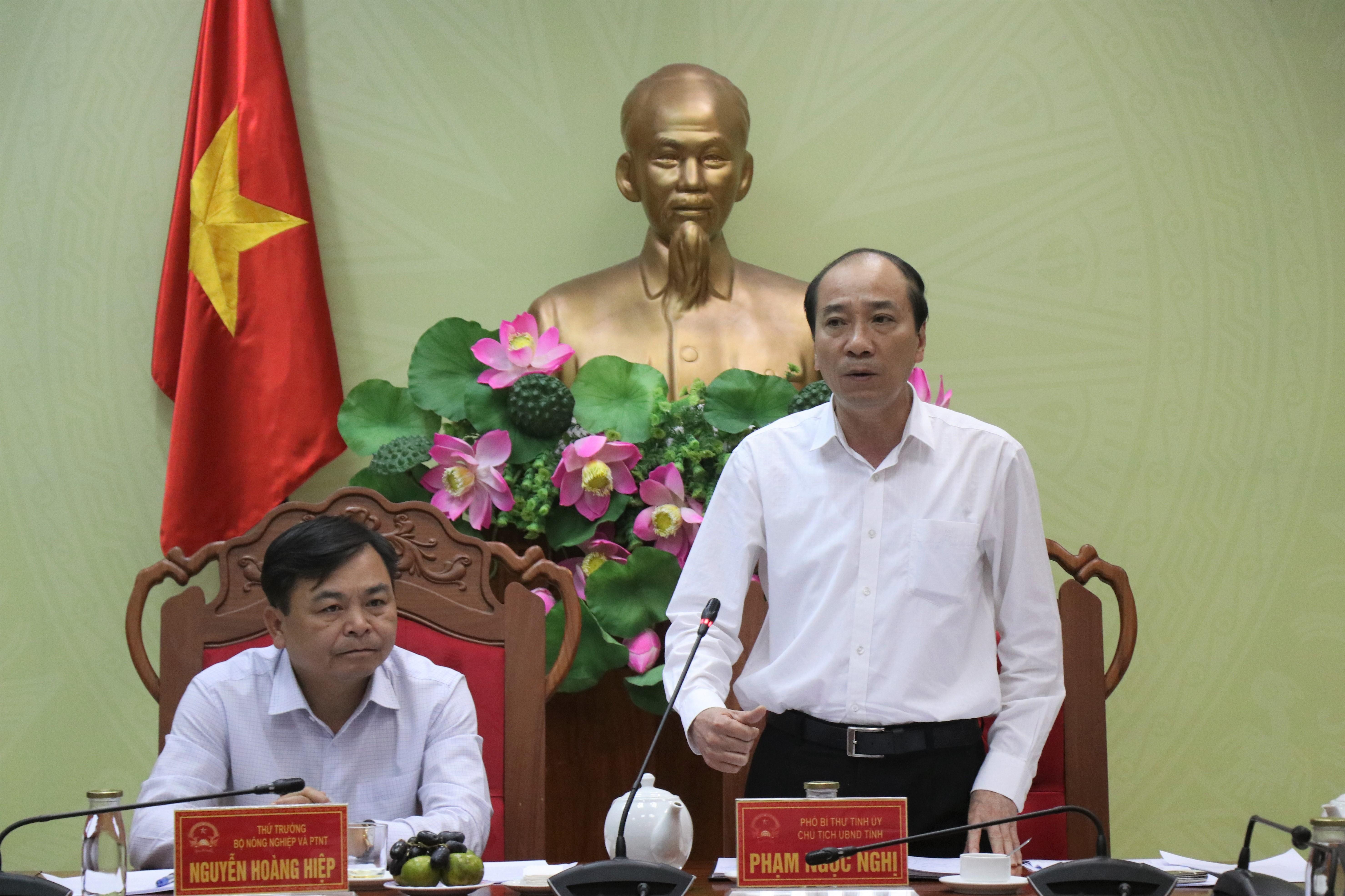 Đoàn công tác của Bộ Nông nghiệp và Phát triển nông thôn làm việc với UBND tỉnh Đắk Lắk