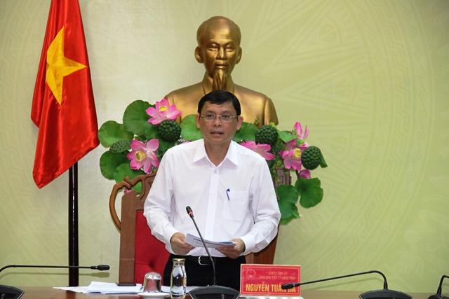 UBND tỉnh họp thông qua kết quả chấm điểm Chỉ số cải cách hành chính năm 2019