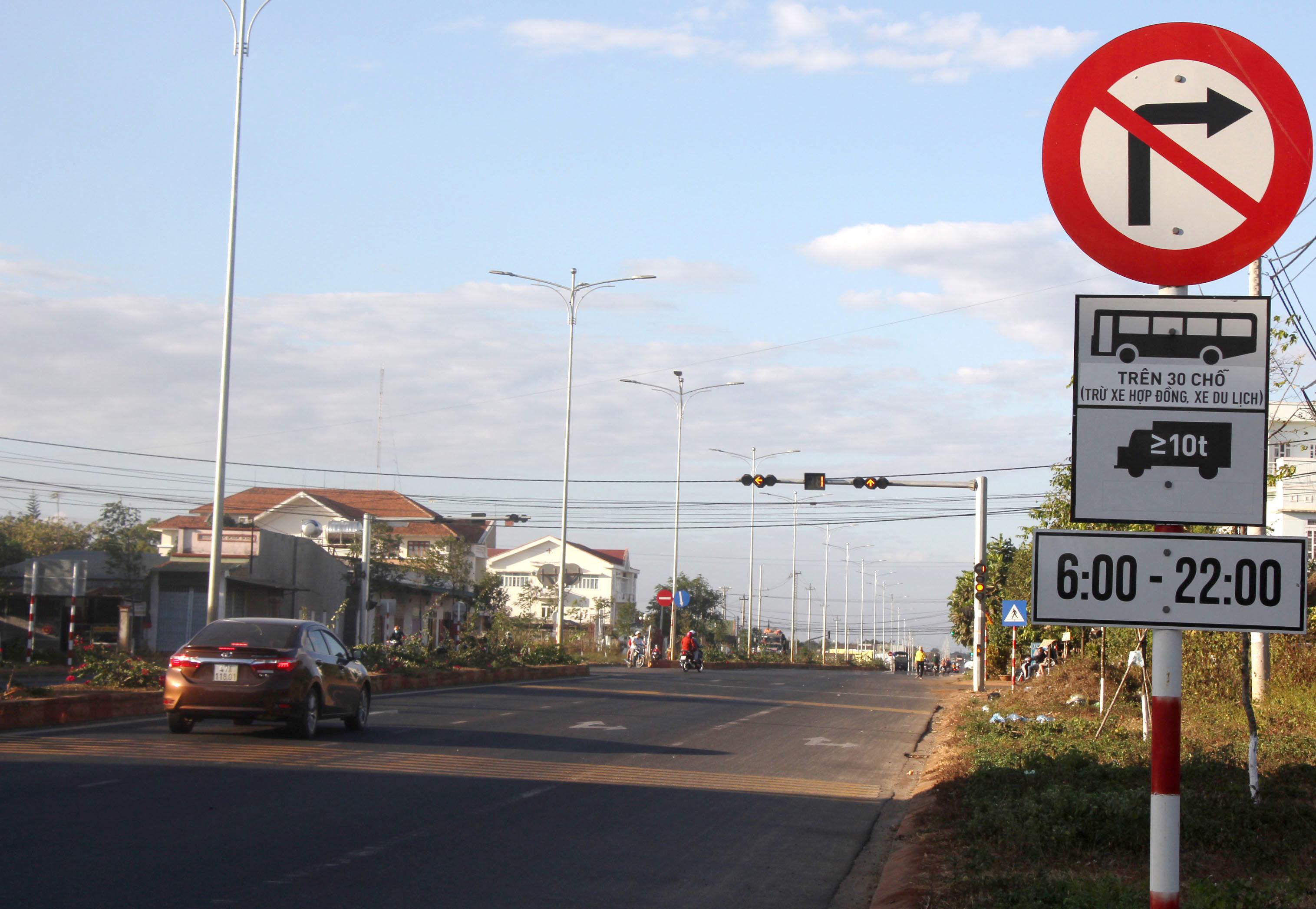 Quy định khung giờ cao điểm về hoạt động vận tải trên địa bàn TP Buôn Ma Thuột