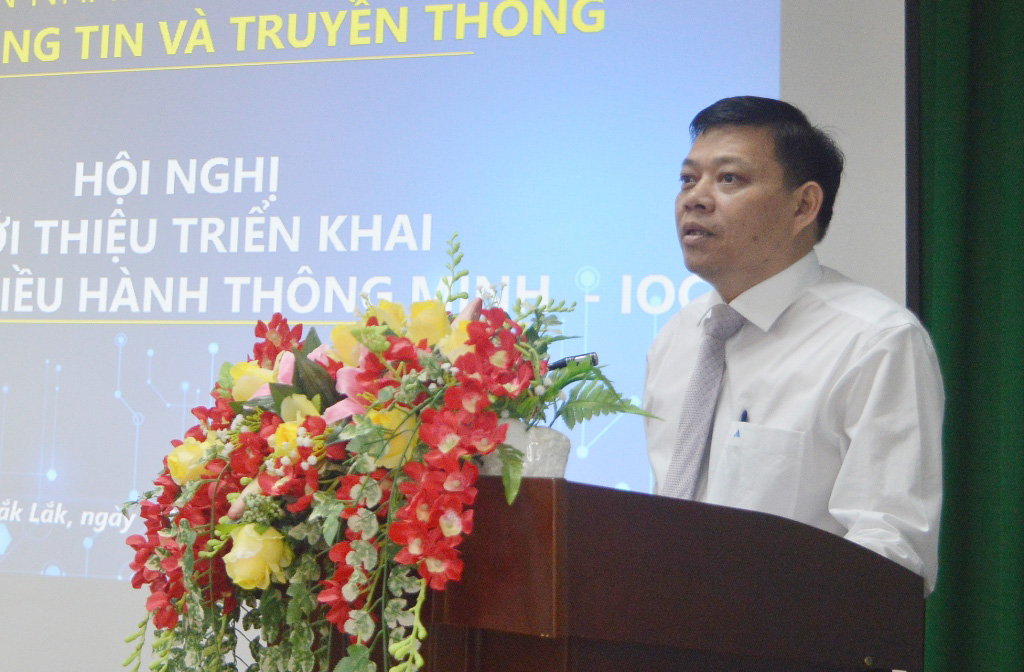 Hội nghị giới thiệu các giải pháp về Trung tâm giám sát điều hành dịch vụ đô thị thông minh