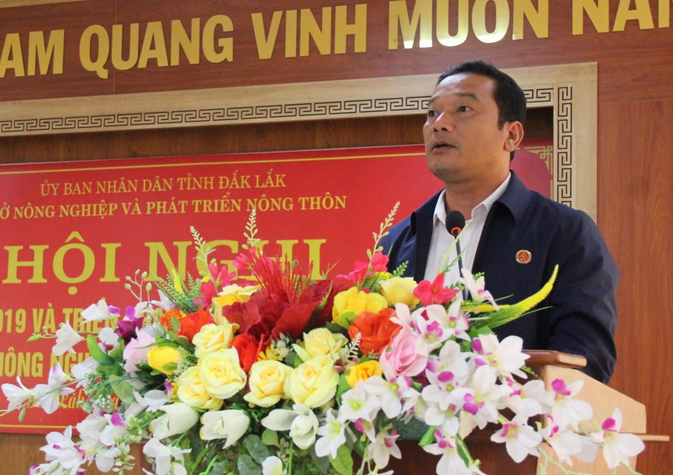 Thông báo kết luận của đồng chí Y Giang Gry Niê Knơng, Phó Chủ tịch UBND tỉnh tại Hội nghị tổng kết năm 2019 và triển khai nhiệm vụ năm 2020 ngành Nông nghiệp và Phát triển nông thôn