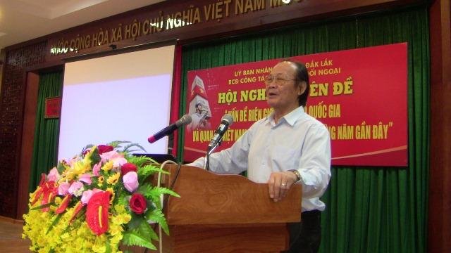 """Hội nghị """"Vấn đề biên giới, lãnh thổ quốc gia và quan hệ Việt Nam – Trung Quốc trong những năm gần đây"""""""