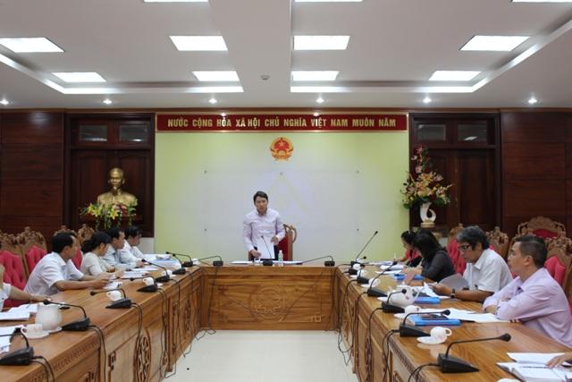 Kết luận của đồng chí Nguyễn Hải Ninh, Phó Chủ tịch UBND tỉnh tại cuộc họp Ban Chỉ đạo thực hiện Chiến lược phát triển Thống kê Việt Nam của tỉnh