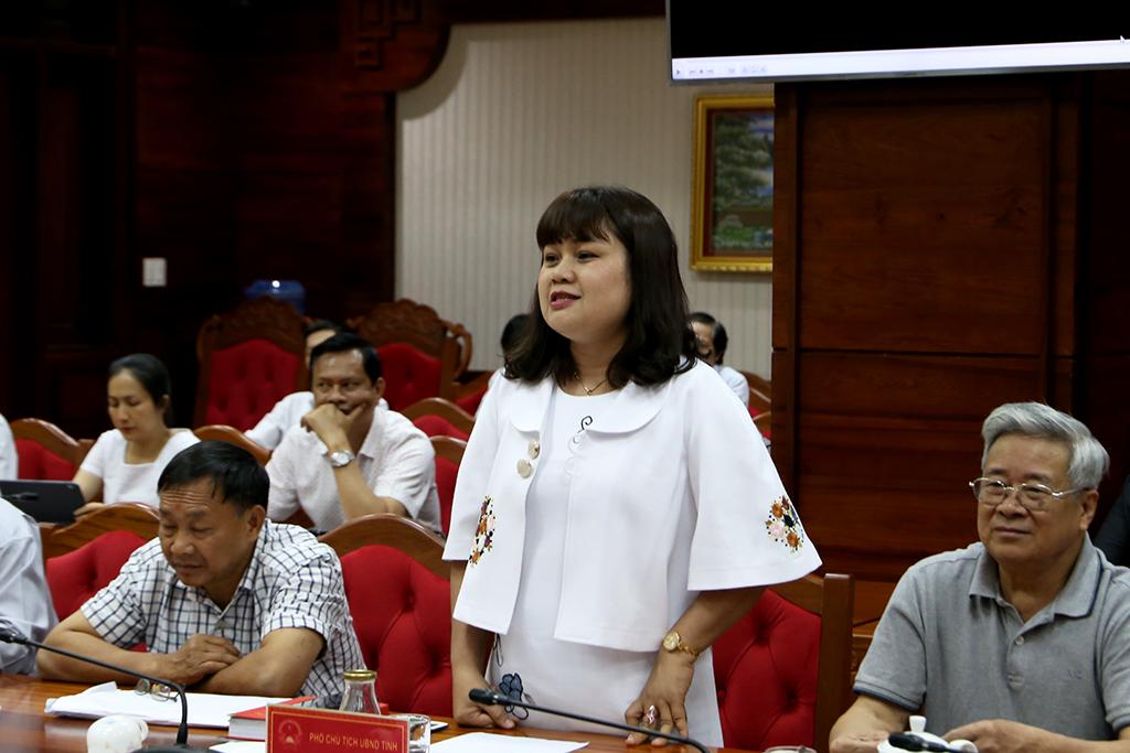 UBND tỉnh tiếp và làm việc với Đoàn công tác của Hội Doanh nhân tư nhân Việt Nam
