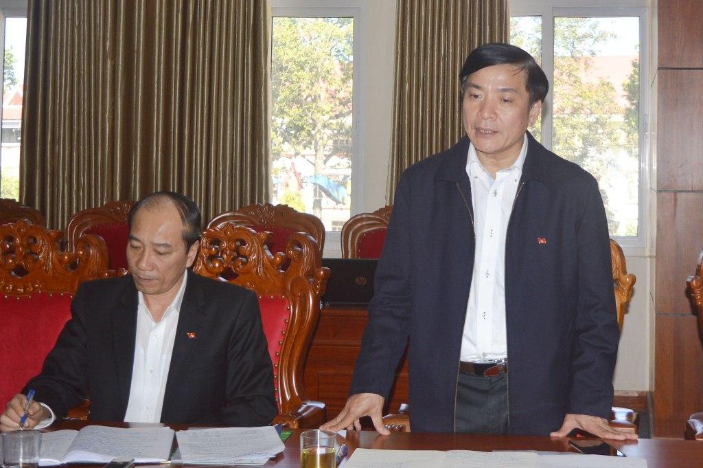 Tập đoàn Công nghiệp Cao su Việt Nam làm việc với tỉnh Đắk Lắk
