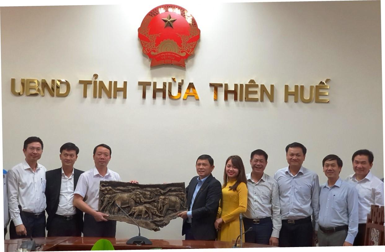 Đắk Lắk học tập kinh nghiệm xây dựng đô thị thông minh tại Thừa Thiên Huế