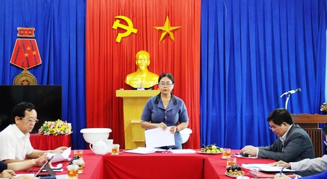 UBMTTQ Việt Nam tỉnh thông qua nội dung giám sát, phản biện năm 2020