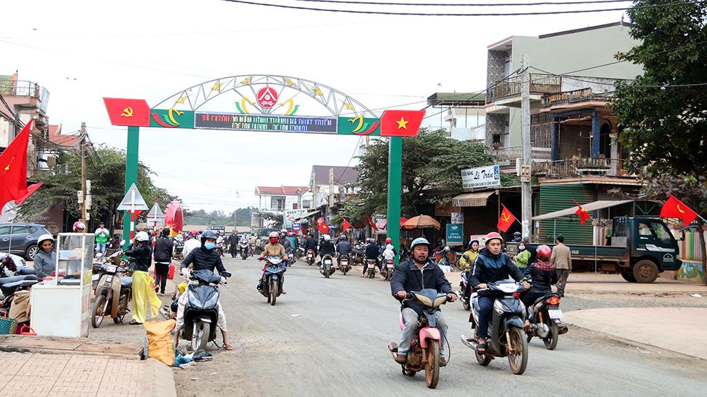 Nâng cấp, mở rộng công trình: Đường giao thông các trục chính buôn Dliêya, xã Dliêya, huyện Krông Năng