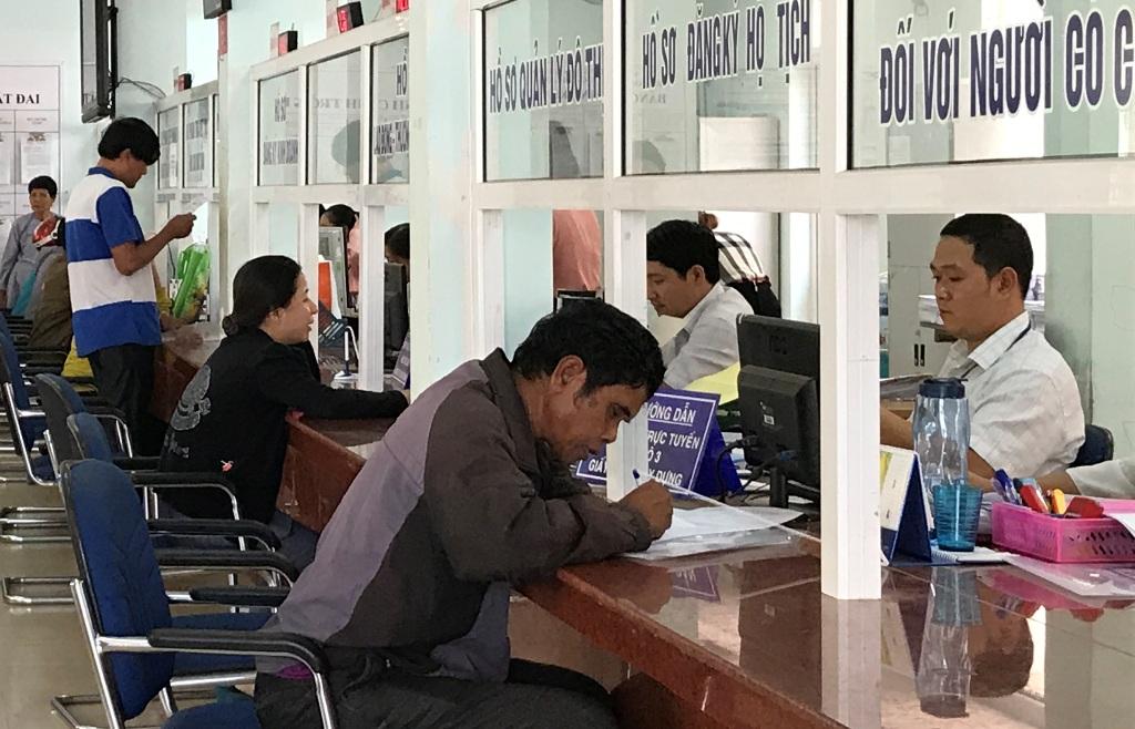 Tháng 02/2020 toàn tỉnh đã giải quyết 220.144 hồ sơ