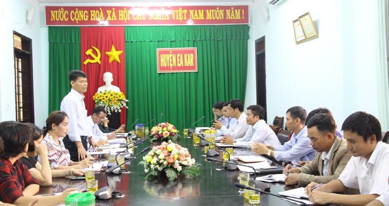 Huyện Ea Kar bắt đầu tiếp nhận và trả kết quả TTHC qua dịch vụ bưu chính công ích