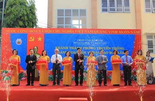 Khánh thành Phòng Truyền thống ngành Giáo dục và Đào tạo tỉnh Đắk Lắk