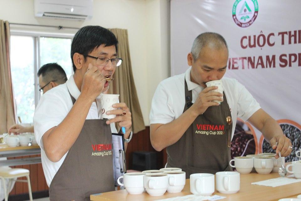 44 mẫu cà phê lọt vào Vòng chung kết Cuộc thi Cà phê đặc sản 2020