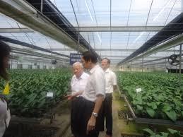 Tổ chức Đoàn tham quan khảo sát chuyên đề nông nghiệp ứng dụng công nghệ cao