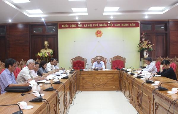 Họp Hội đồng tuyển dụng công chức tỉnh Đắk Lắk năm 2016