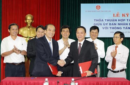 Kế hoạch Hợp tác truyền thông giữa UBND tỉnh Đắk Lắk với Thông tấn xã Việt Nam, Đài Tiếng nói Việt Nam và Ban điều hành kênh Truyền hình Quốc gia VTV8 năm 2020.