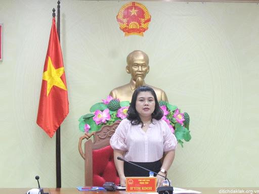 Thông báo Kết luận của đồng chí H'Yim Kđoh – Phó Chủ tịch UBND tỉnh, Trưởng Ban Chỉ đạo phòng chống dịch Covid-19 tỉnh tại cuộc họp ngày 09/3/2020.