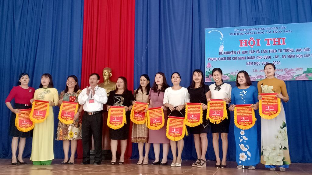 Hội thi kể chuyện về học tập và làm theo tư tưởng, đạo đức, phong cách Hồ Chí Minh năm học 2019 - 2020