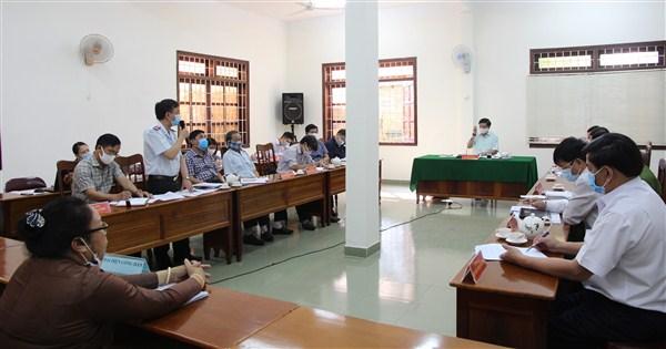 Bí thư Tỉnh ủy Bùi Văn Cường tiếp công dân định kỳ tháng 3/2020