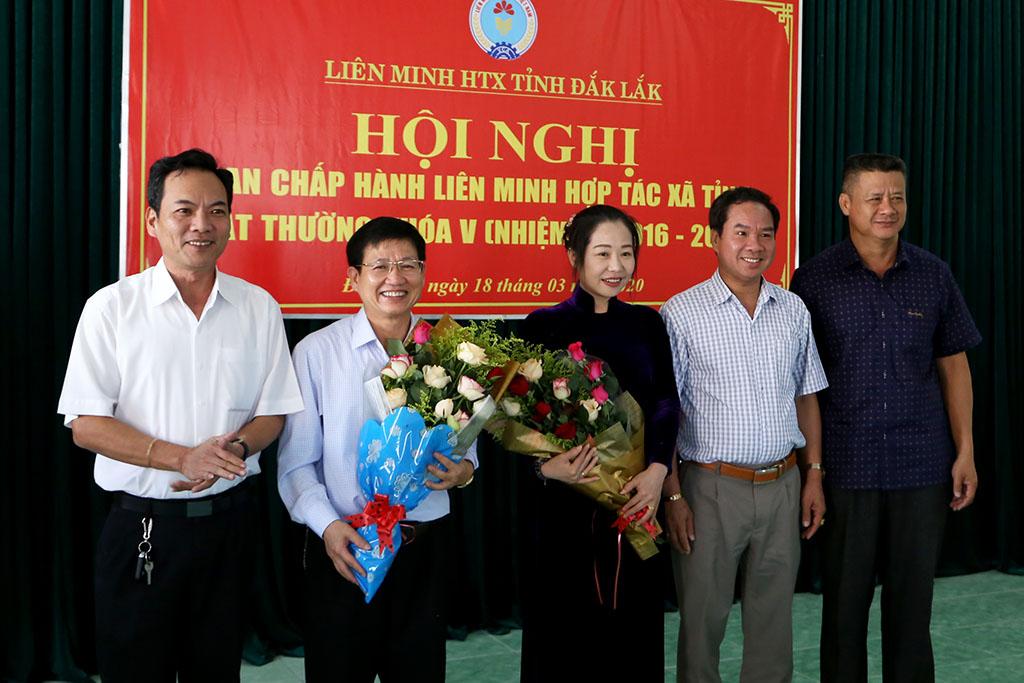 Hội nghị Ban chấp hành Liên minh HTX tỉnh Đắk Lắk khóa V