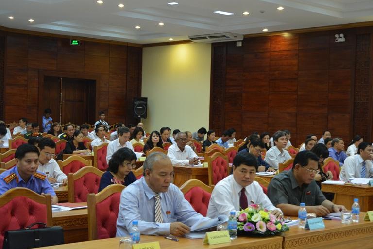 Khai mạc Kỳ họp thứ 12, HĐND tỉnh khóa VIII, nhiệm kỳ 2011 – 2016.