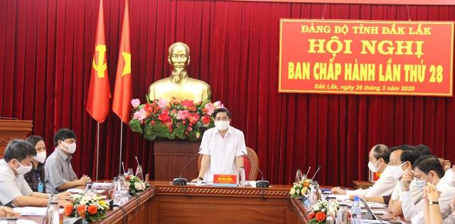 Hội nghị Ban Chấp hành Đảng bộ tỉnh lần thứ 28
