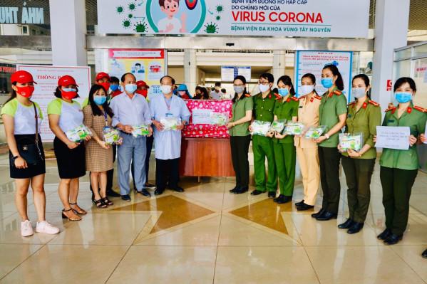 Sở Y tế gửi Thư cảm ơn các đơn vị tham gia hỗ trợ công tác phòng, chống dịch Covid-19