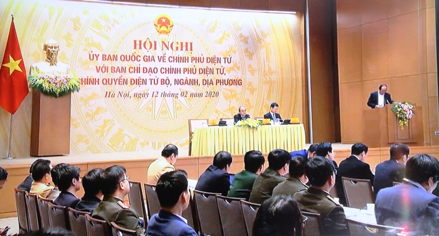 Thủ tướng Chính phủ yêu cầu: Xây dựng Chính phủ điện tử là một việc lớn, lâu dài
