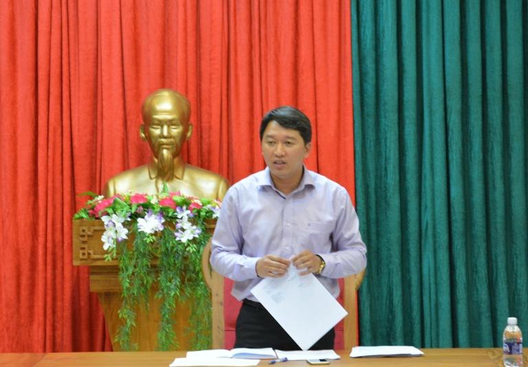 Ban bầu cử Đại biểu Quốc hội khóa XIV– Đơn vị bầu cử số 01 họp triển khai nhiệm vụ.