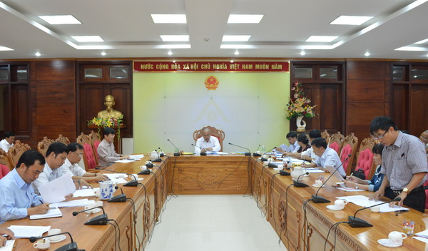 Meeting of Provincial Committee for Enterprise Renovation and Development