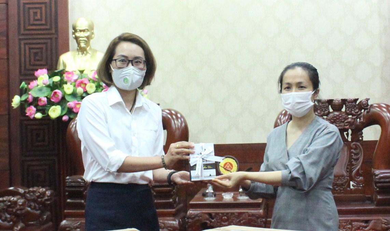 Tập đoàn Trung Nguyên ủng hộ tỉnh Đắk Lắk chống dịch Covid-19