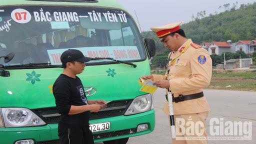 Cung cấp thông tin phương tiện vận chuyển của tỉnh Bắc Giang vi phạm Chỉ thị số 16/CT-TTg ngày 31/3/2020 của Thủ tướng Chính phủ.