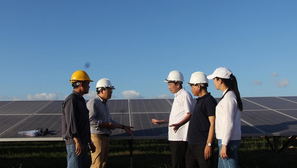 Tình hình thực hiện các dự án điện gió, điện năng lượng trên địa bàn tỉnh quý 1/2020