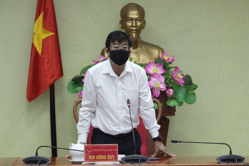 Tổ công tác của Chủ tịch UBND tỉnh làm việc với UBND huyện Ea Kar