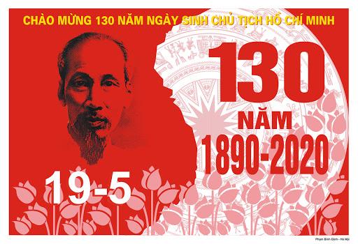 Tuyên truyền kỷ niệm 130 năm Ngày sinh Chủ tịch Hồ Chí Minh (19/5/1890-19/5/2020).