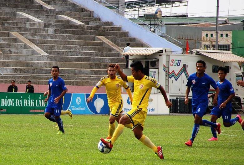 Vòng 4 Giải Bóng đá Hạng Nhất quốc gia năm 2016: CLB Đắk Lắk có chiến thắng đầu tiên.