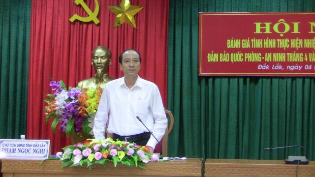 UBND tỉnh triển khai nhiệm vụ tháng 5 năm 2016