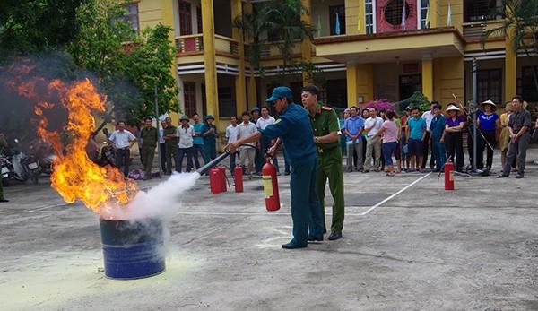 Kế hoạch thực hiện Nghị quyết của Quốc hội về thực hiện chính sách, pháp luật về phòng cháy và chữa cháy.